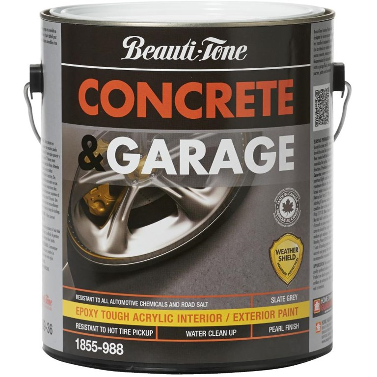 Painting On Power Troweled Concrete Garage Floors